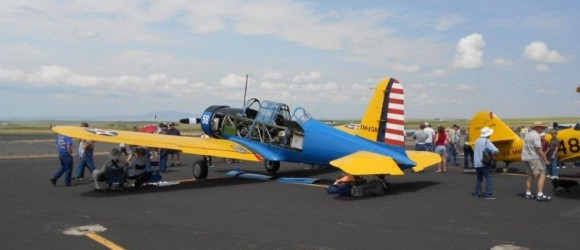Warbird Weekend at Idaho County Airport