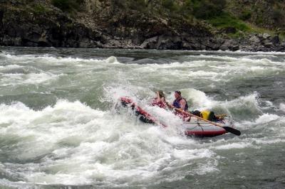 Whitewater Rafting - Lower Salmon River