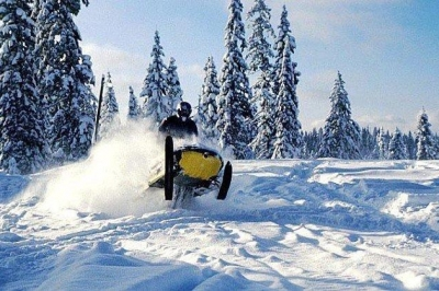Snowmobiling the Backcountry