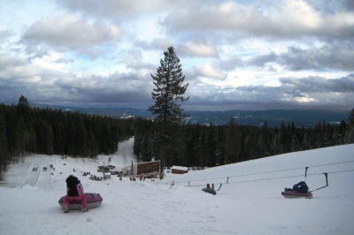 Snowhaven Tube Hill
